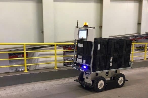 EffiBOT en navigation autonome