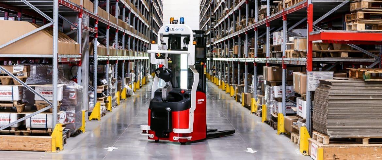 Présentation gerbeur robotisé